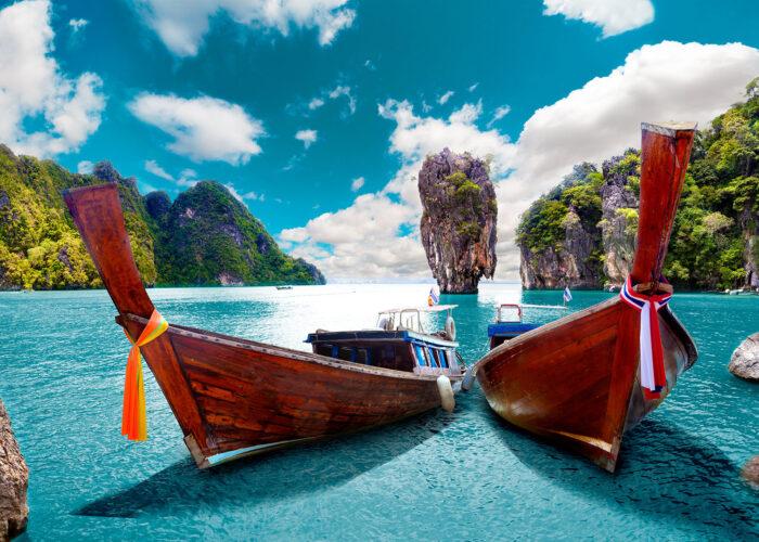 phuket boats.