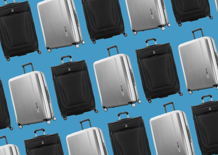 samsonite and travel pro suitcases