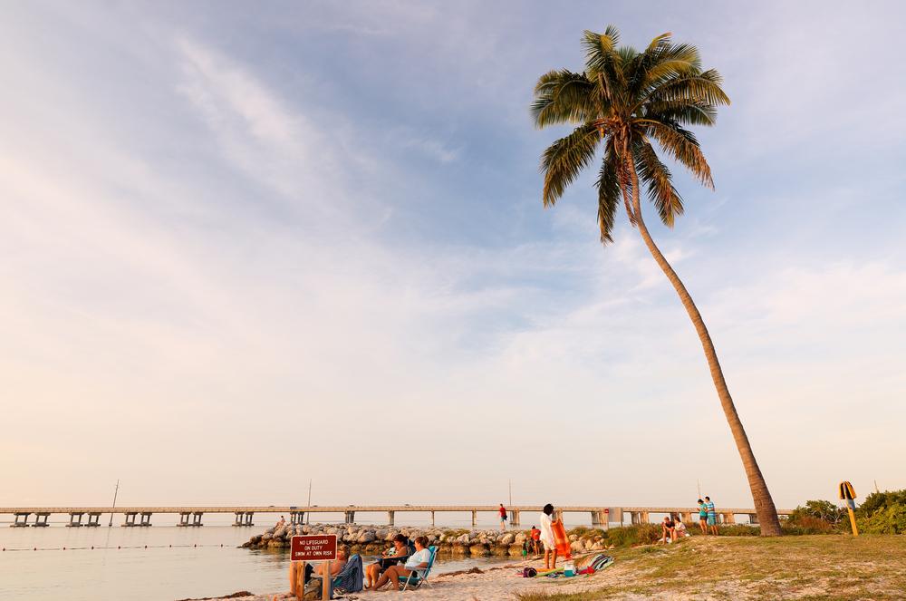 Bahia Honda Beach in Florida Keys