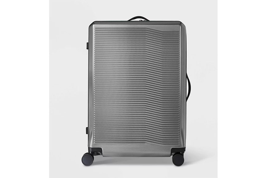 target open story hardside 29 inch suitcase.