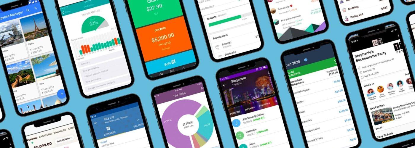 12 budgetign app screenshots
