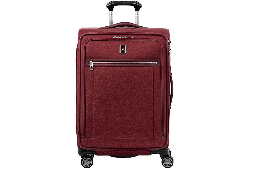 travelpro platinum elite 25 inch expandable spinner suitcase.
