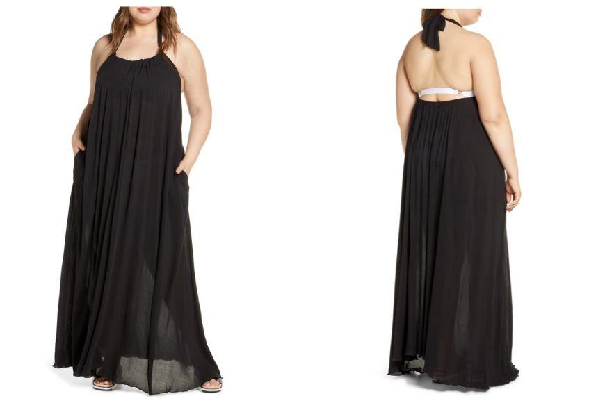 ELAN Cover-up Maxi Dress.
