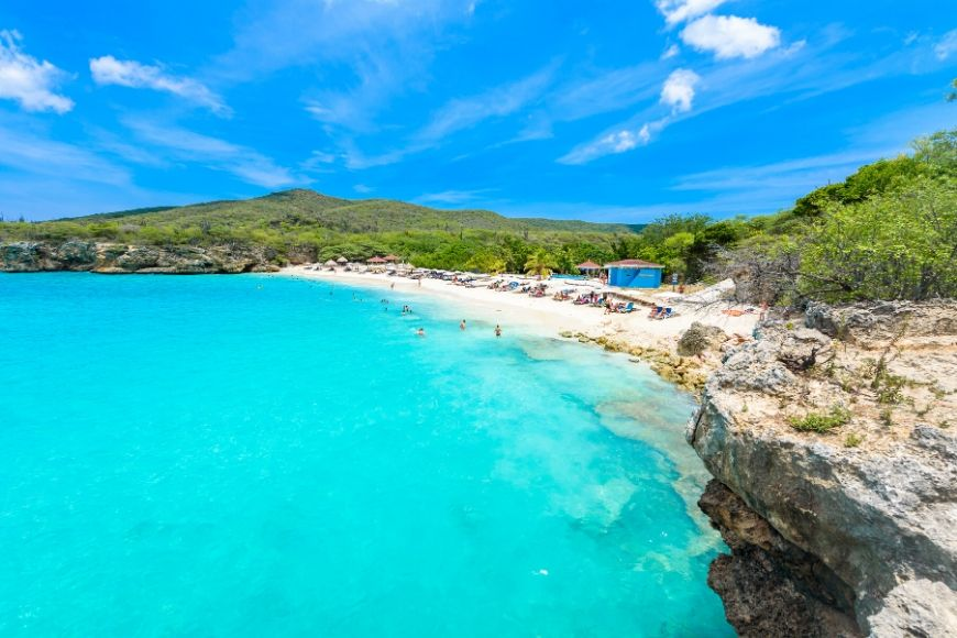 Grote Knip beach Curacao Netherlands Antilles.