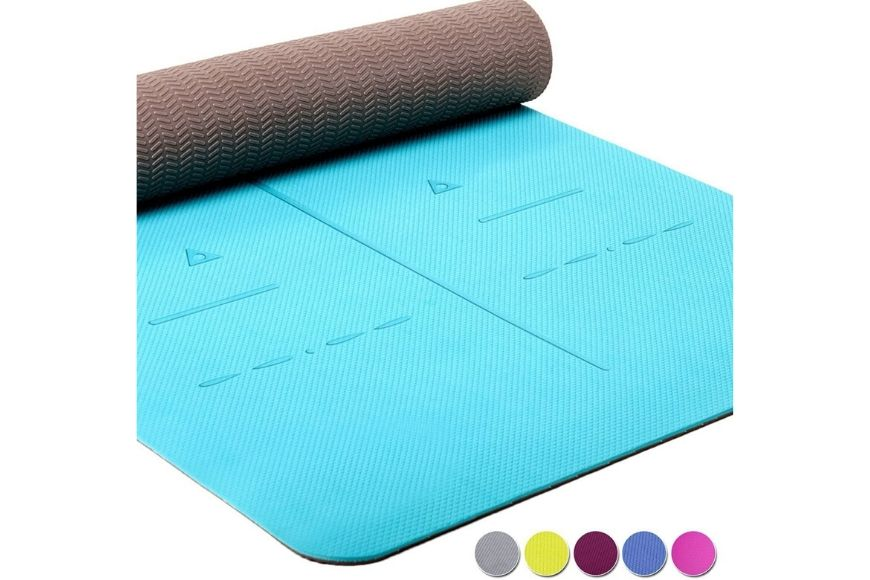 healthyoga eco friendly nonslip yoga mat.