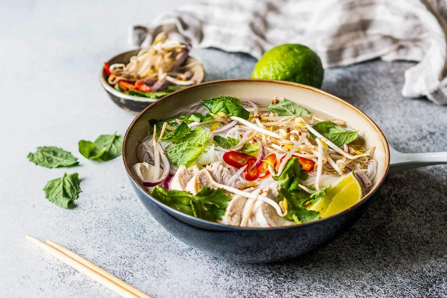 Pho Ga vietnamese soup noodles