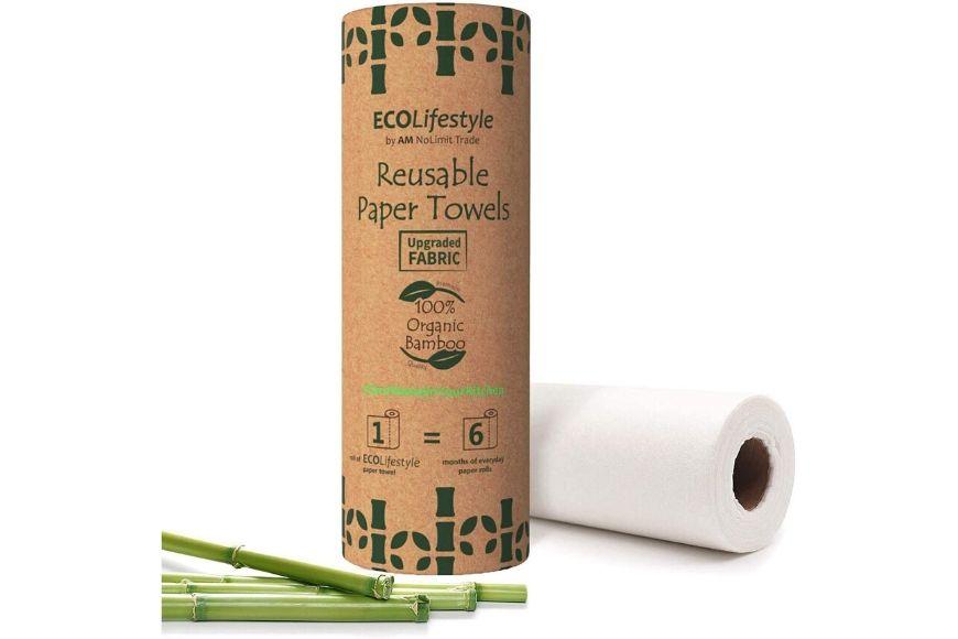 reusable paper towels.