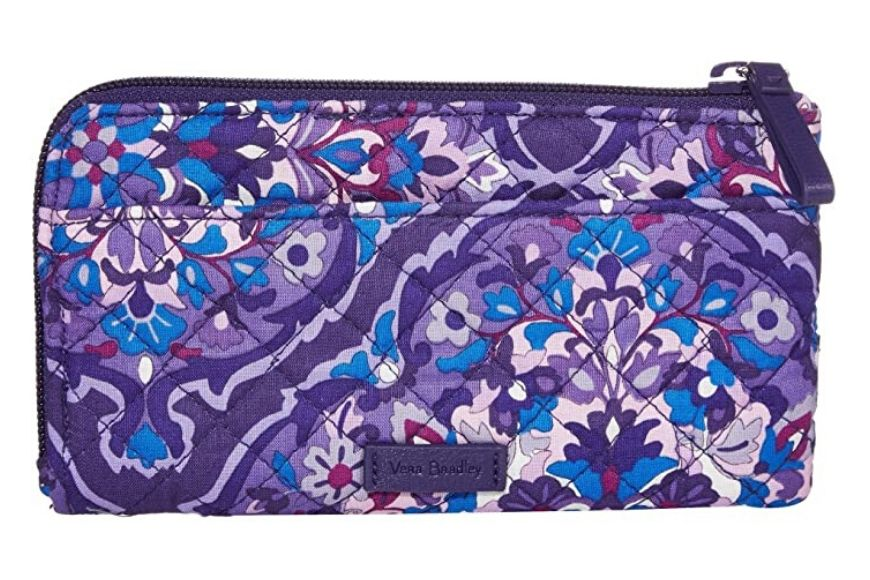 Vera Bradley Iconic RFID Ultimate Card Case.