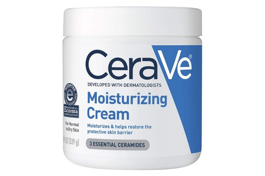 cerave moisturizing cream.