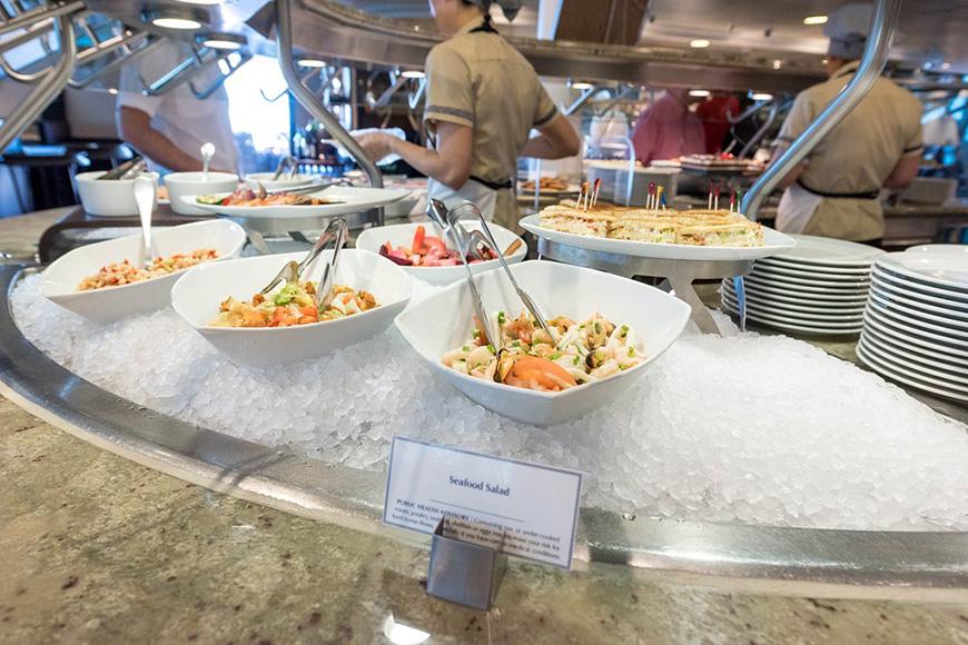 Buffet, Marina, Oceania Cruises