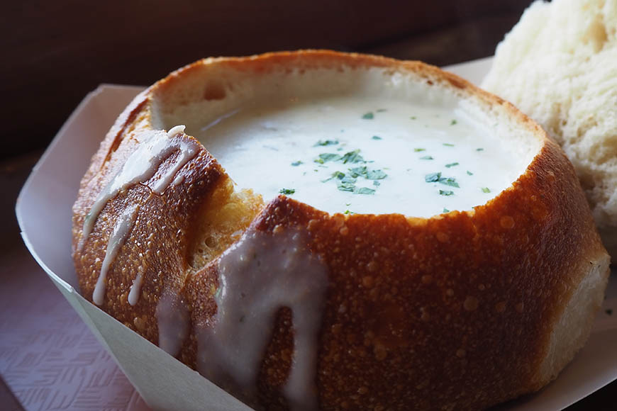 san francisco bread bowl.