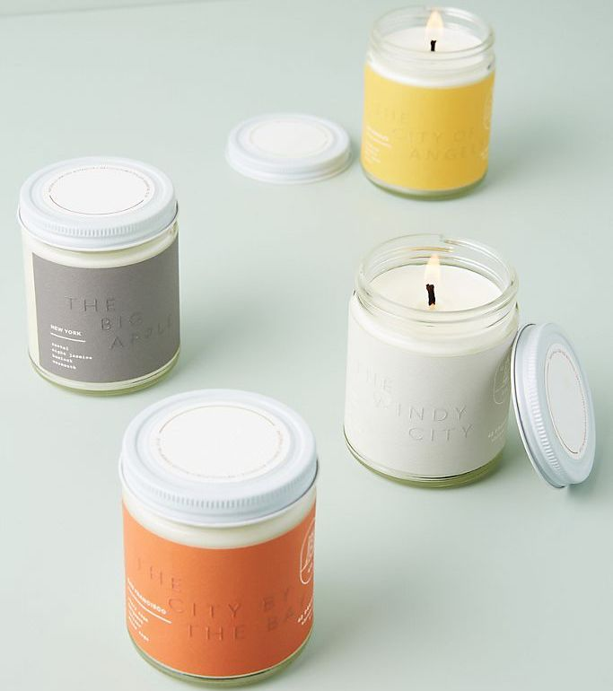 Anthropologie City Jar Candles