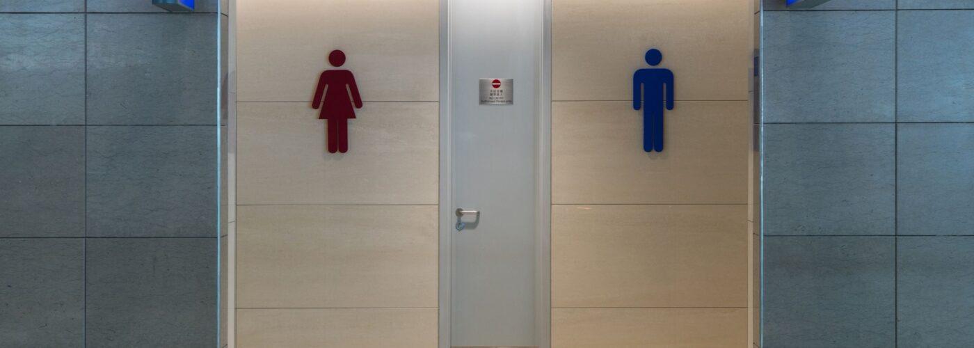 public bathroom.