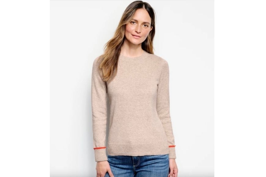Orvis Tipped Crew Sweater