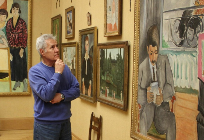 Alex Trebek Visits The Barnes Foundation Philadelphia