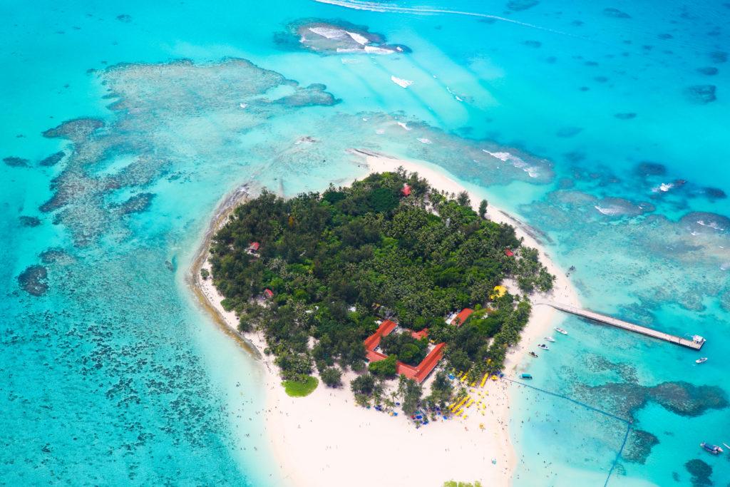 Aerial view of Saipan