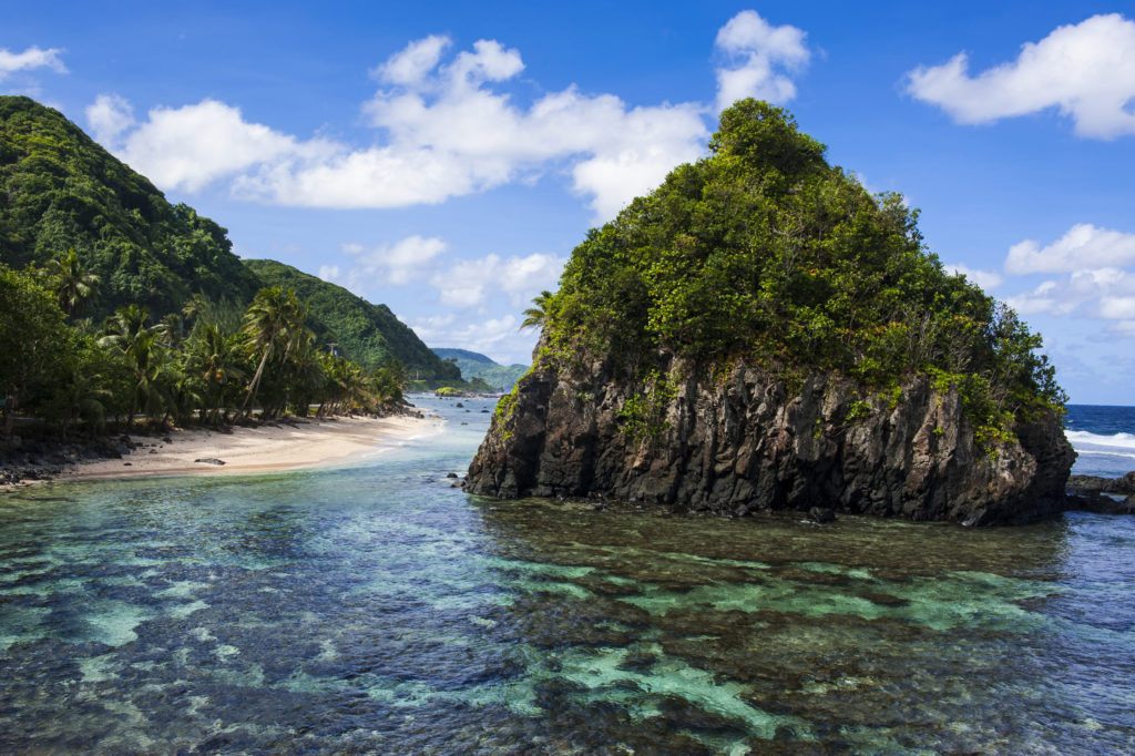 Tutuila island, American Samoa
