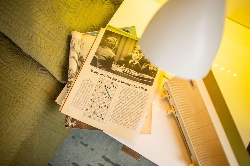 The Harmon Room newspaper.