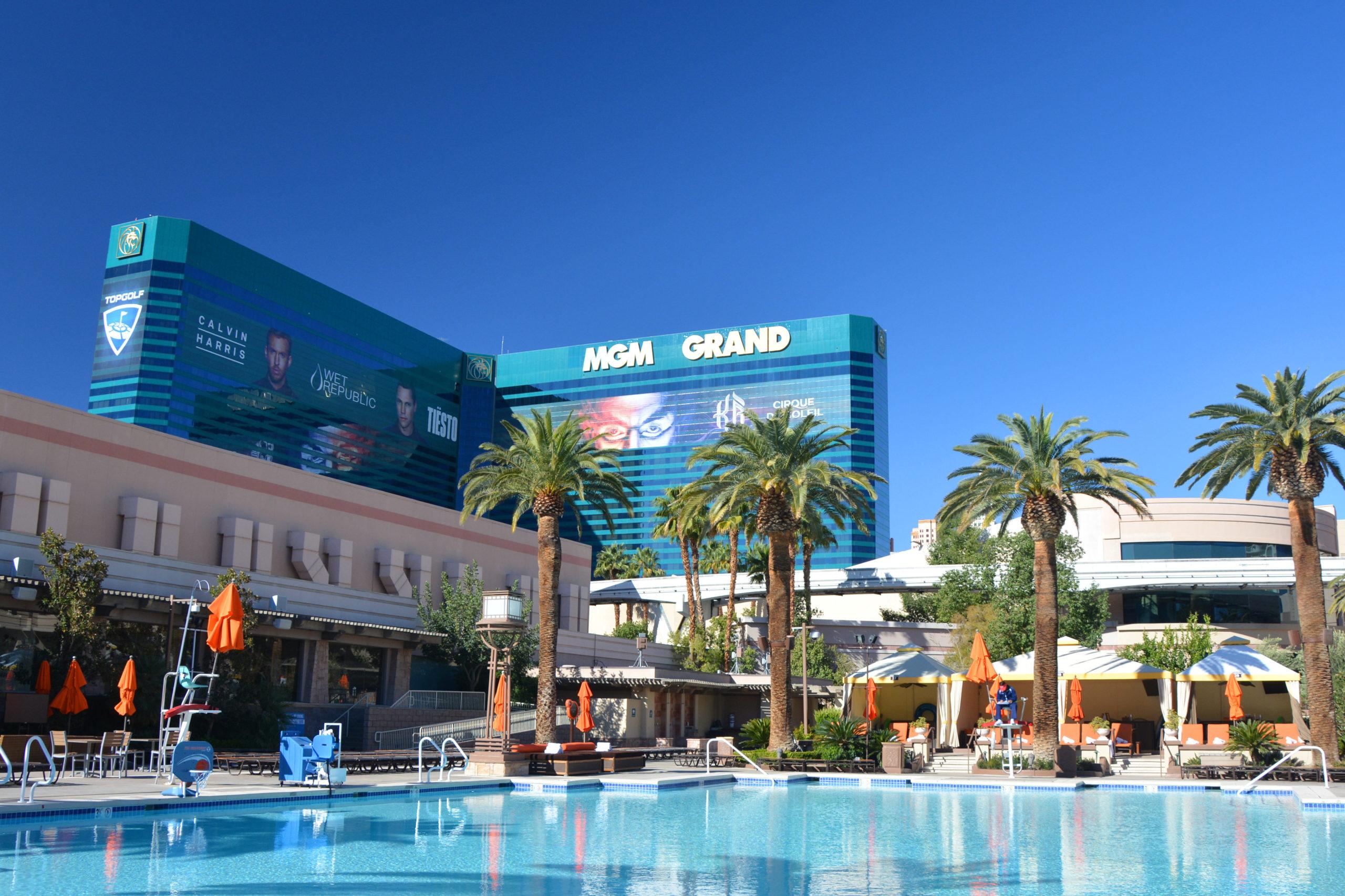 MGM Grand Hotel in Las Vegas, Nevada