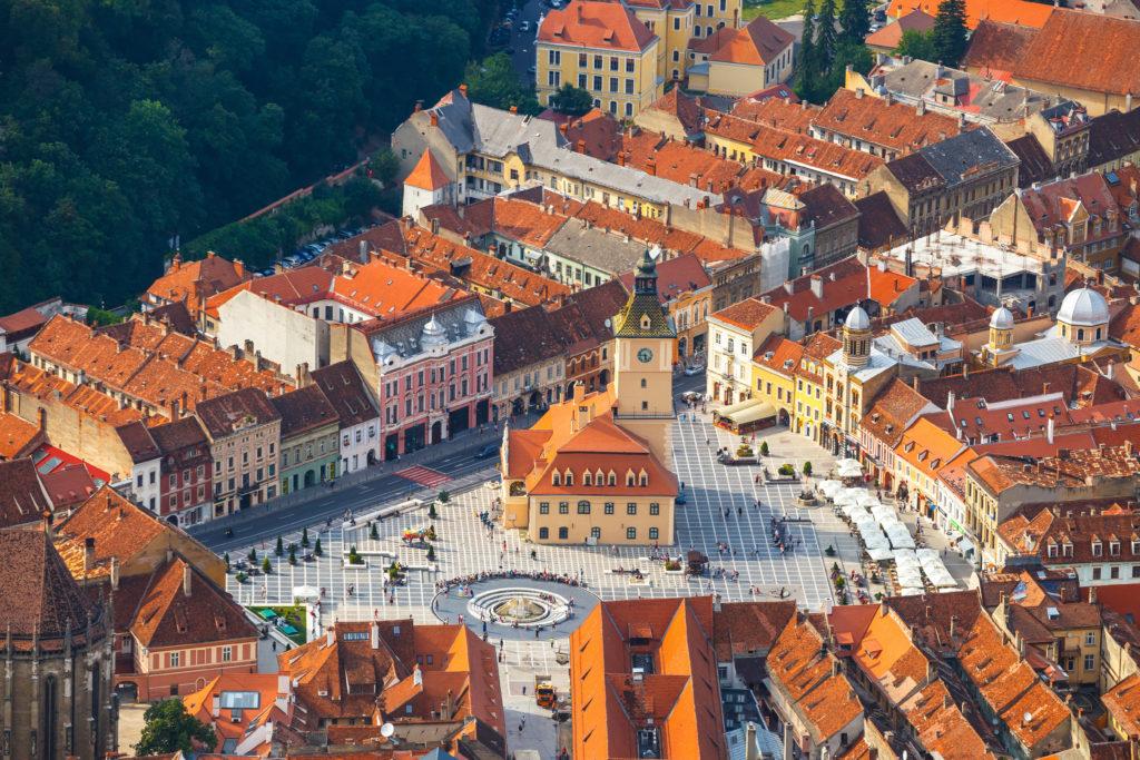 Old Town, Brasov, Transylvania, Romania