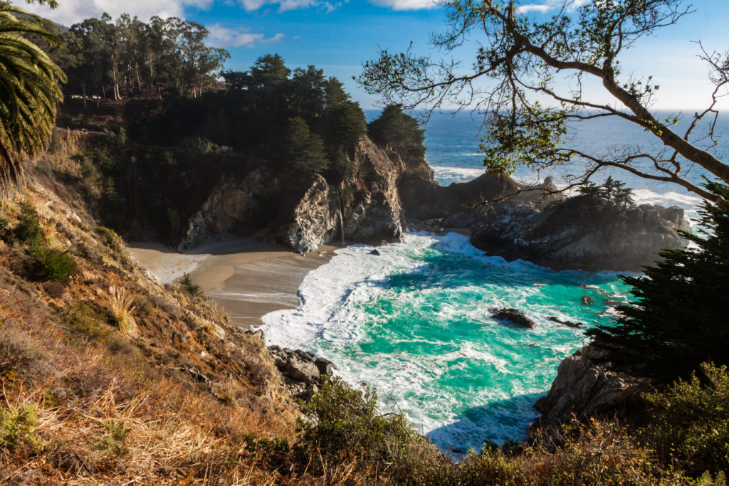 Coastline at Pfieffer Big Sur State Park, California