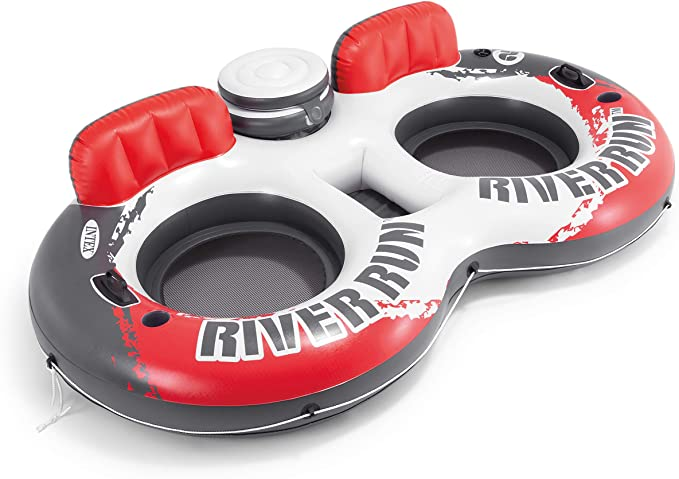 Inflatable 2 Person Pool Tube Float Raft