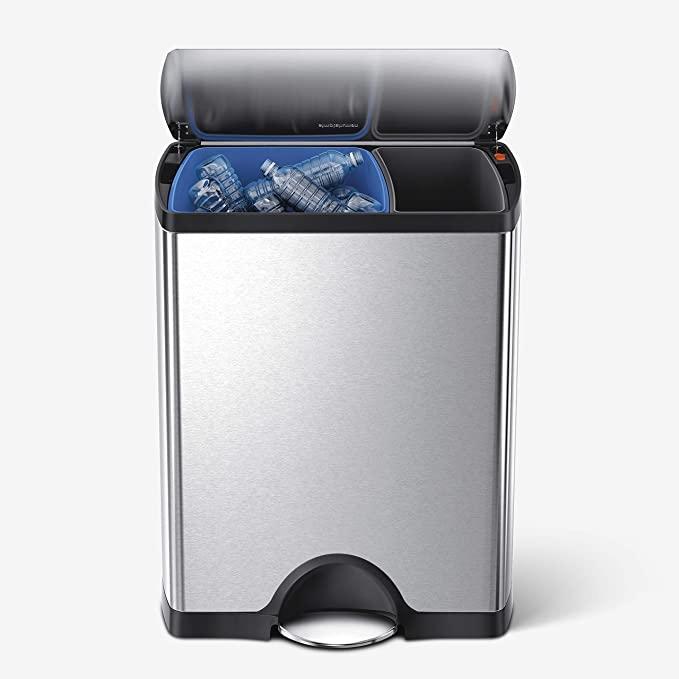 simplehuman 46 Liter trash bin