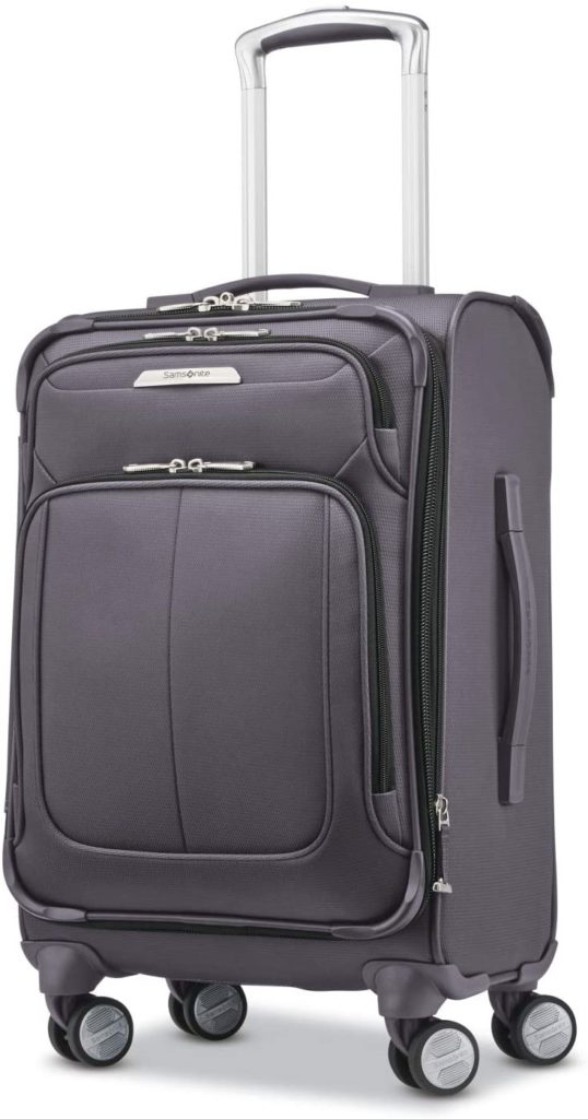 Samsonite Solyte DLX Expandable Softside Carry On with Spinner Wheels