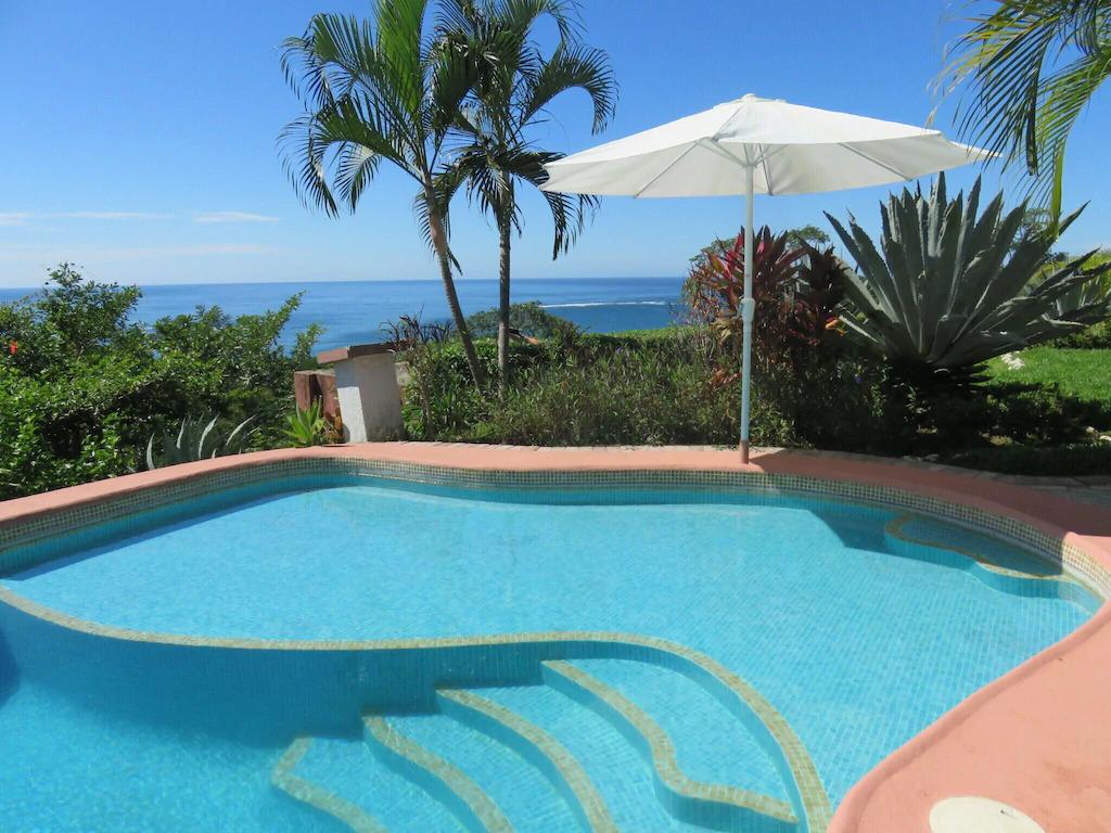 A pool at a vacation home in Samara, Guanacaste, Costa Rica
