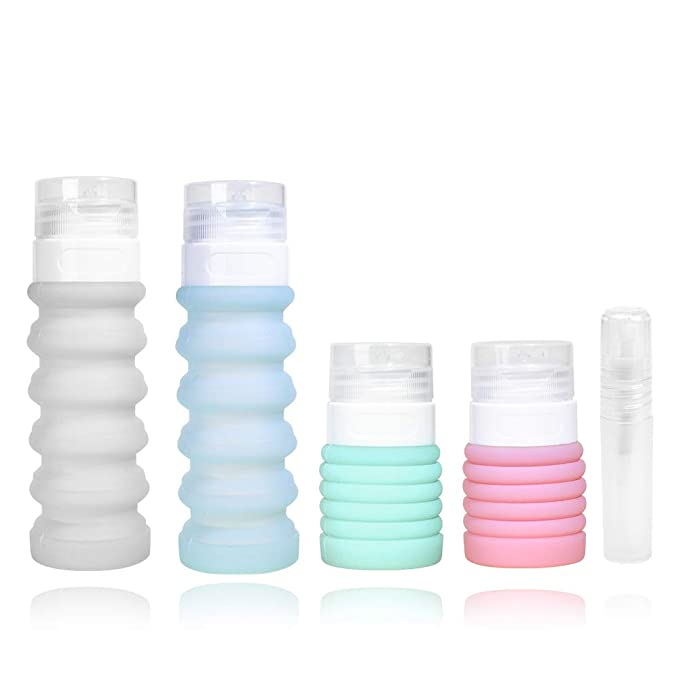 Collapsible Travel Size Bottles