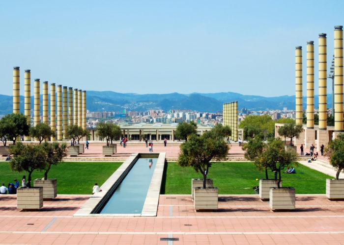 Olympic Stadium and Park, Barcelona, Spain