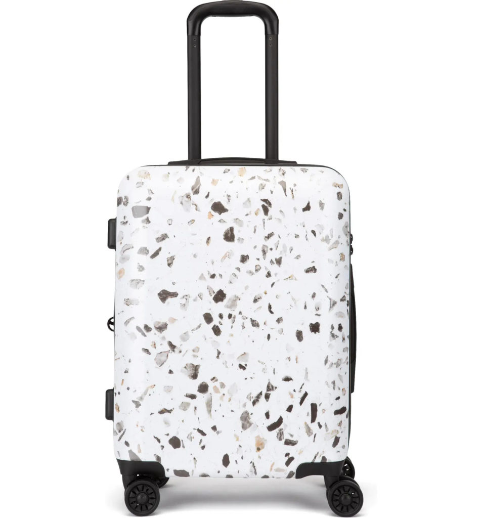 Terrazzo 22-Inch Hard Shell Spinner Carry-On Suitcase