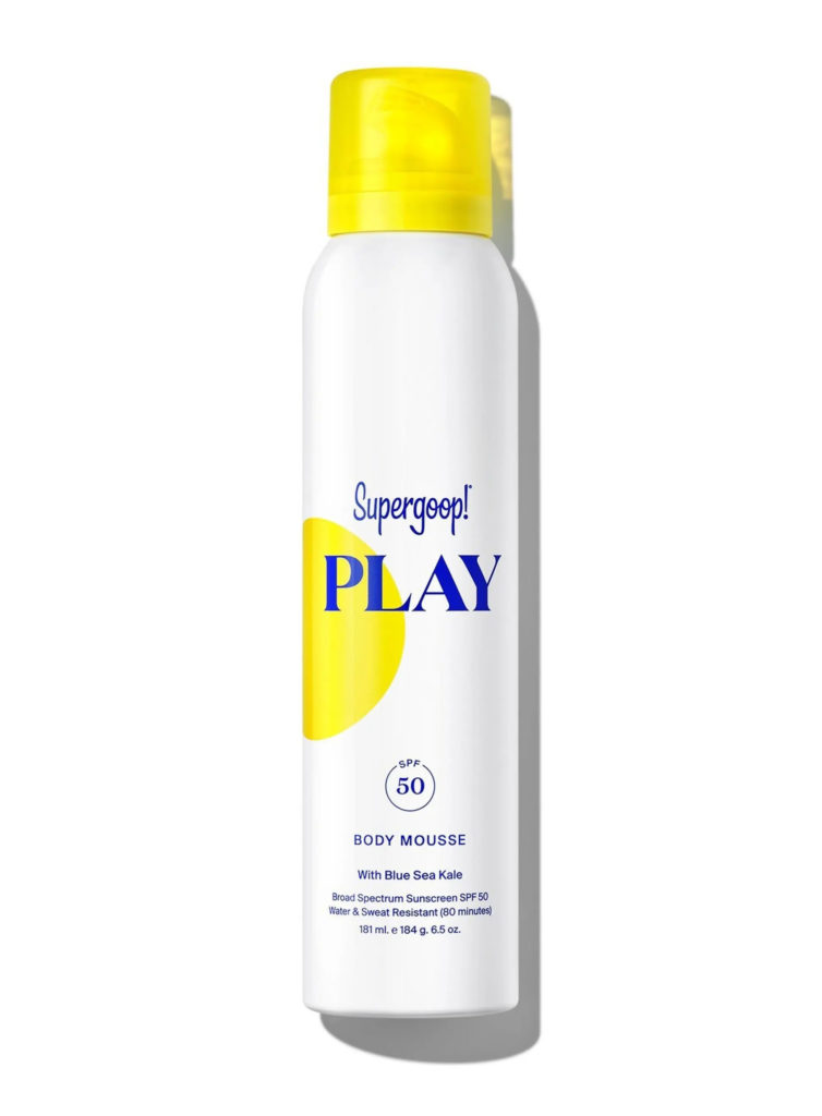 Supergoop! PLAY Body Mousse SPF 50 Sunscreen