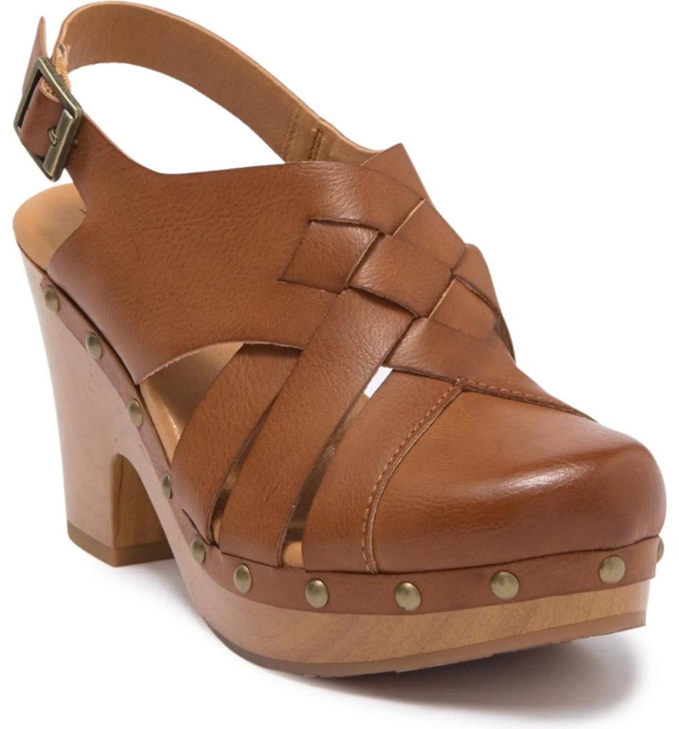 Kork Wynne Platform Clog Sandal