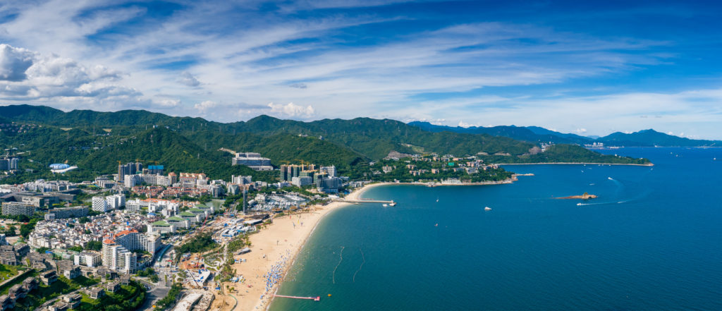 Dameisha Bathing Beach, China