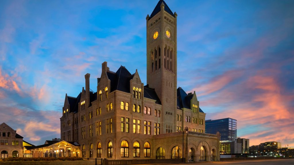 Exterior of The Union Station Hotel