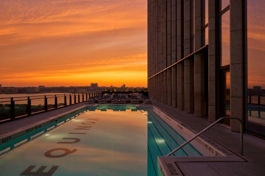 Equinox Hotel Rooftop Pool