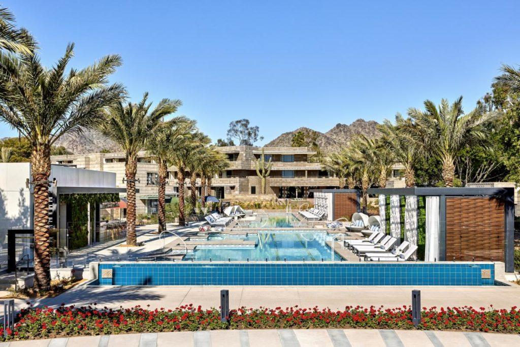 Pool at the Arizona Biltmore