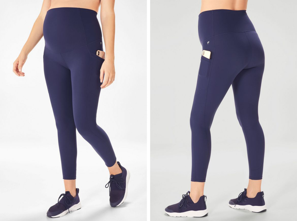 Fabletics High-Waisted PureLux Maternity ⅞ Leggings