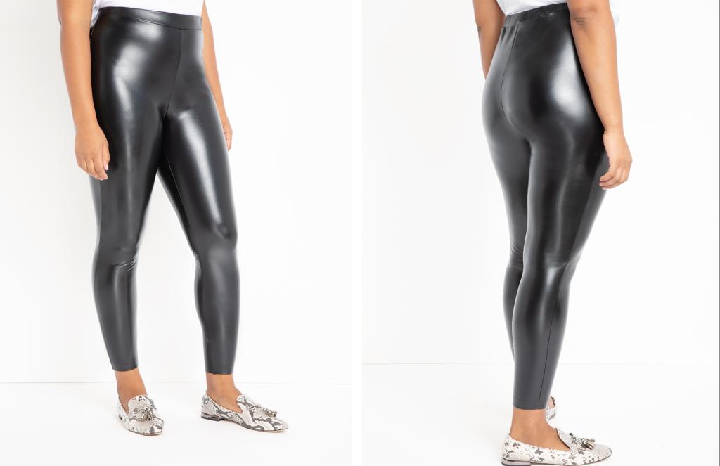 Eloquii Faux Leather Leggings
