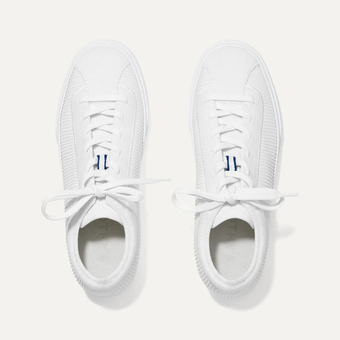 Rothy's The Lace Up white sneakers