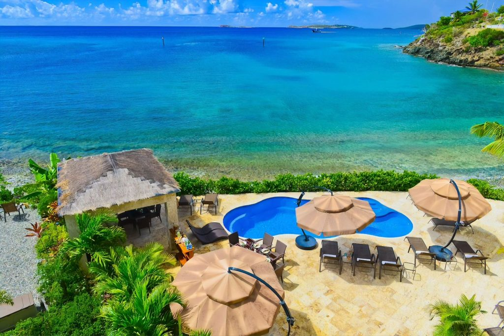 Oceanfront pool at the Sea Shore Allure