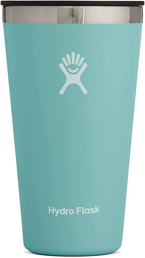 Hydro Flask Tumbler - Stainless Steel, Reusable, Vacuum Insulated with Press-in Lid