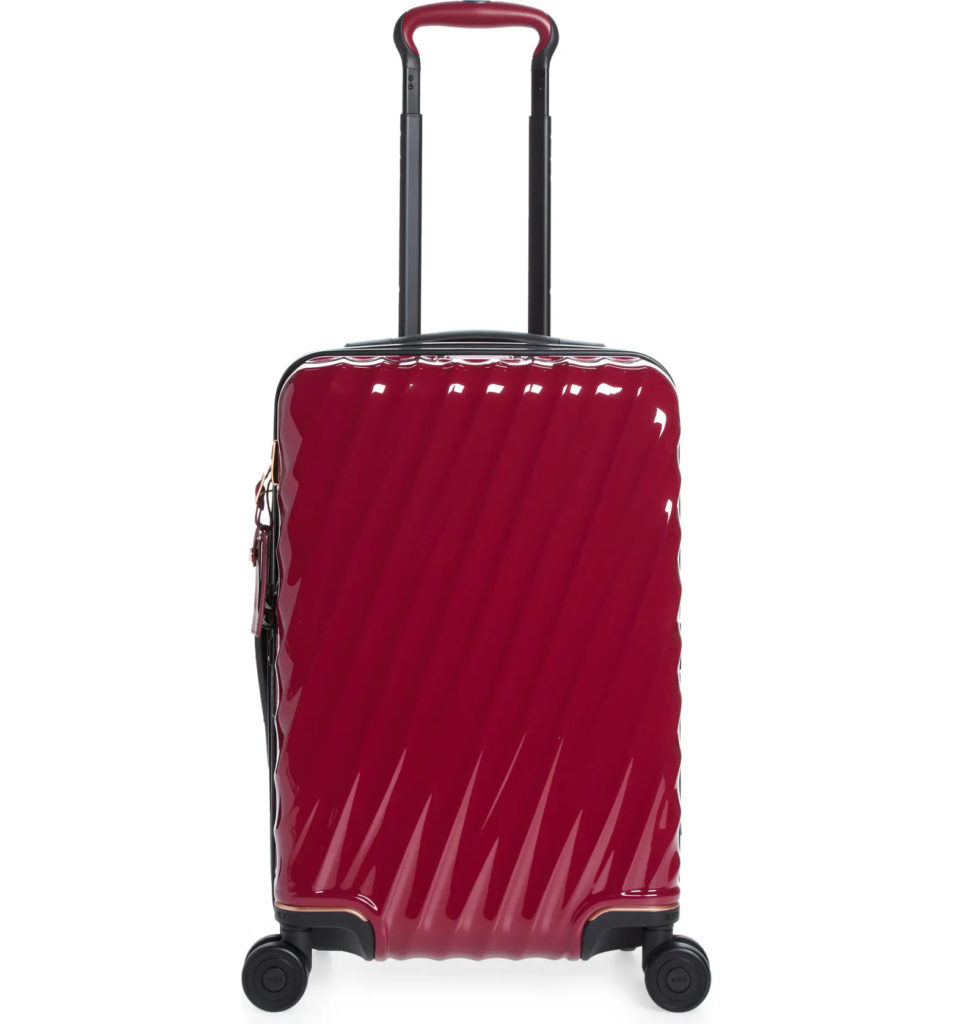 Tumi 22-Inch 19 Degrees Aluminum International Expandable Spinner Carry-On