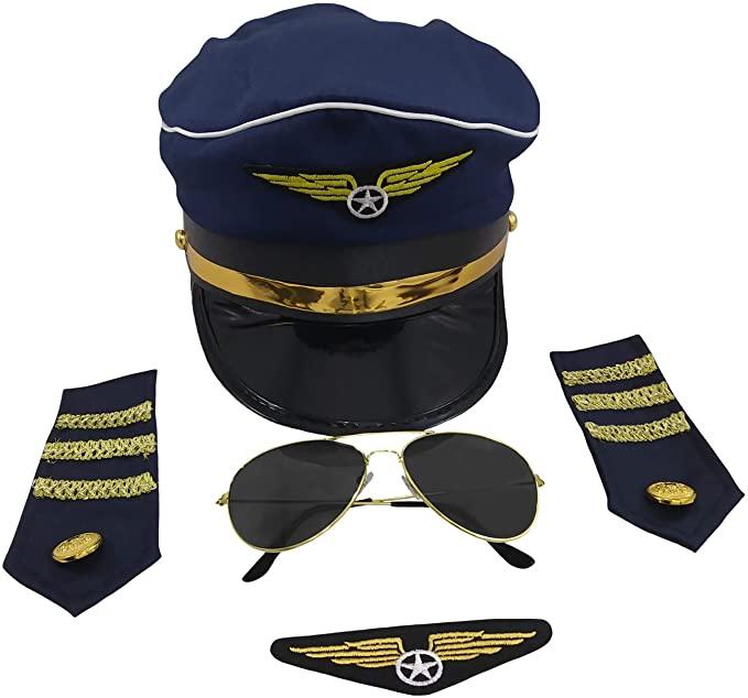 Pilot costume accessory set
