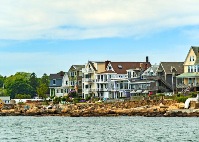 Coastline of Salem, Massachusetts