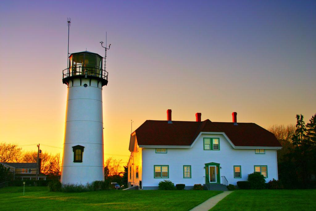 Chatham Lighthouse in Chatham, Massachusetts