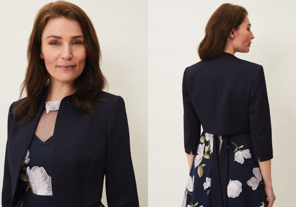 Phase Eight Karlee Textured Occasion Jacket
