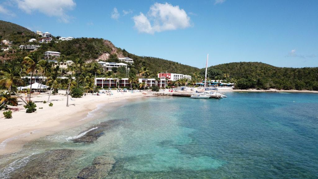 Seashore at the Bolongo Bay Beach Resort, St. Thomas