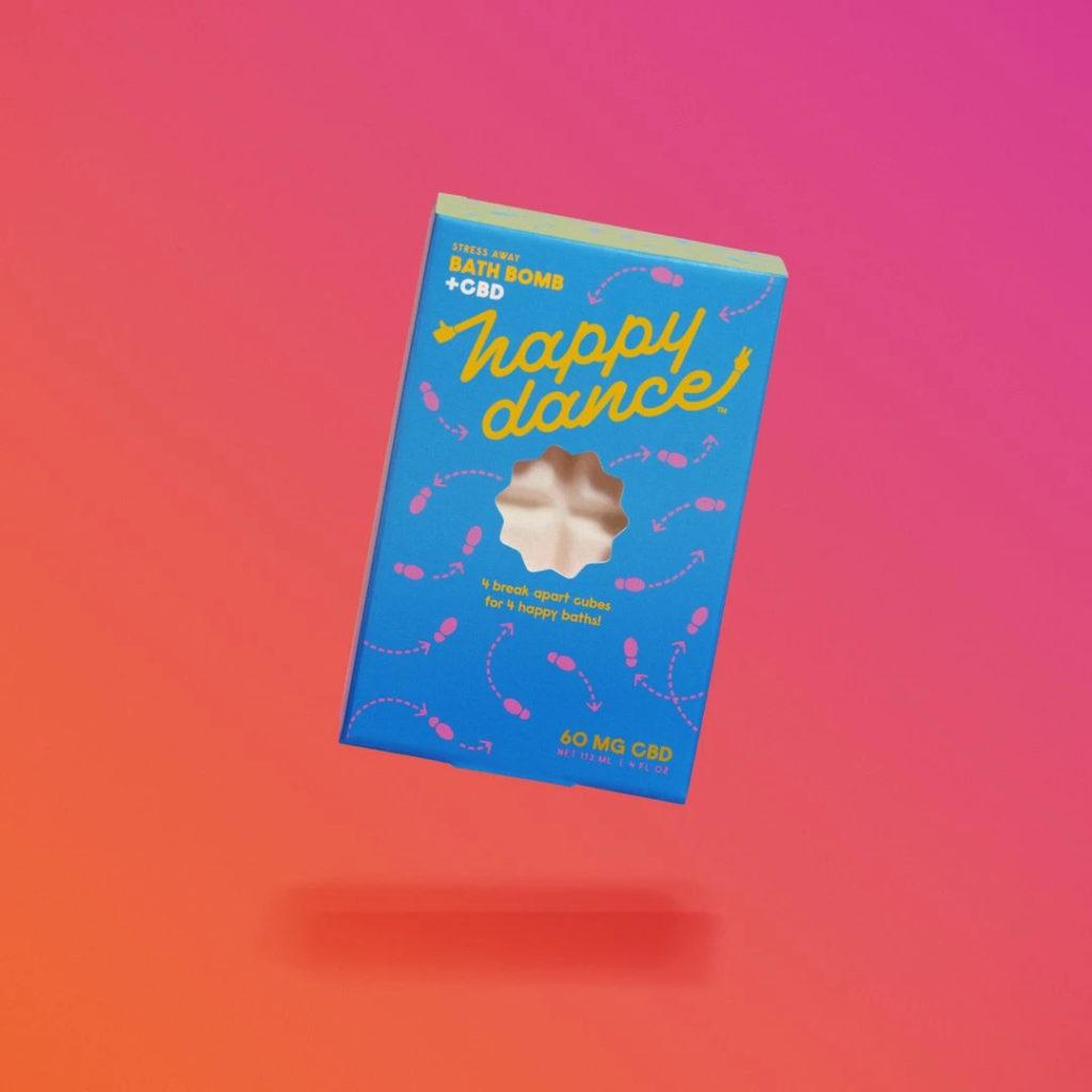 Happy Dance CBD Bath Bomb